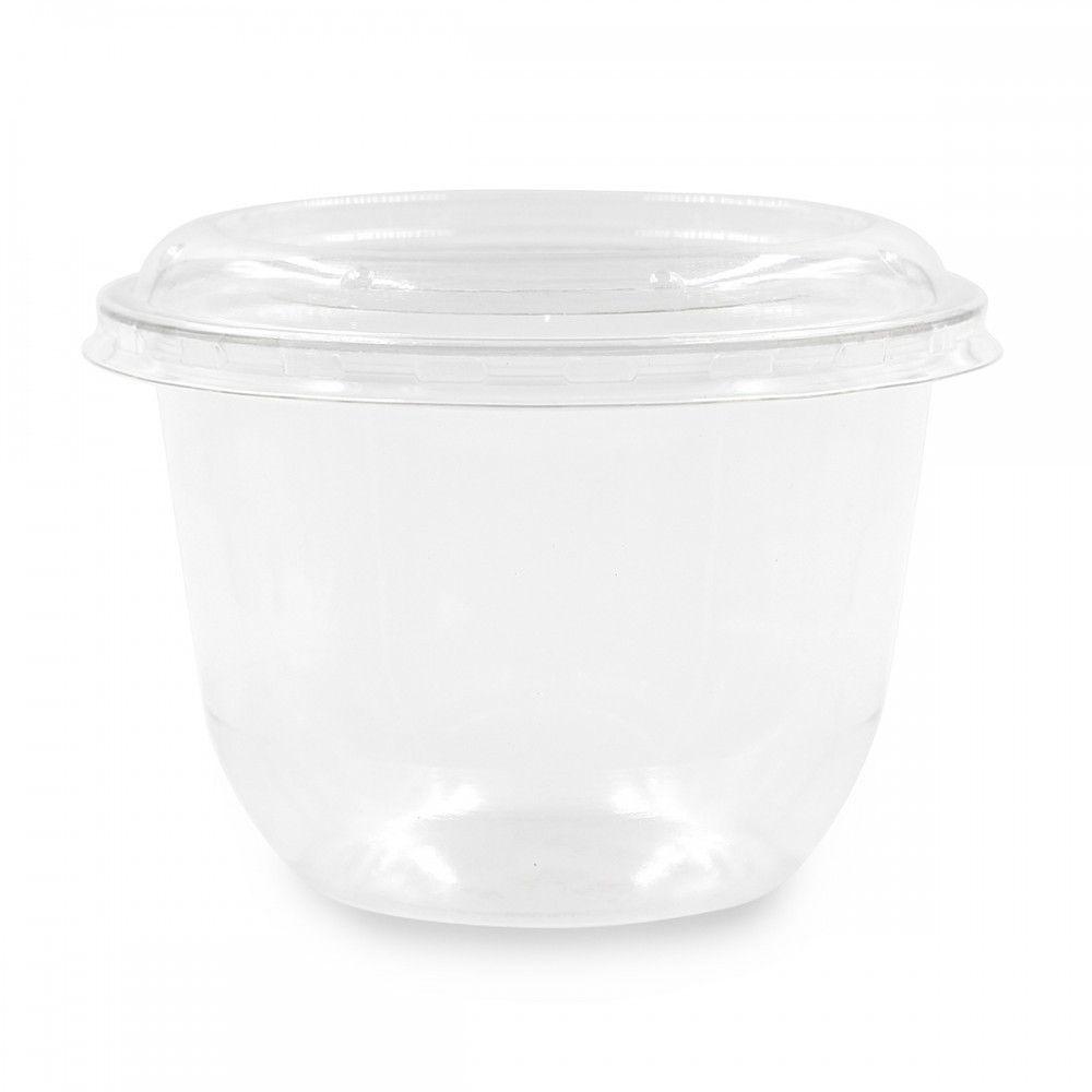 محموعة 25 علبة شفافه 250 مل رقم الصنف 8a 743 Small Trash Can Tableware Bowl