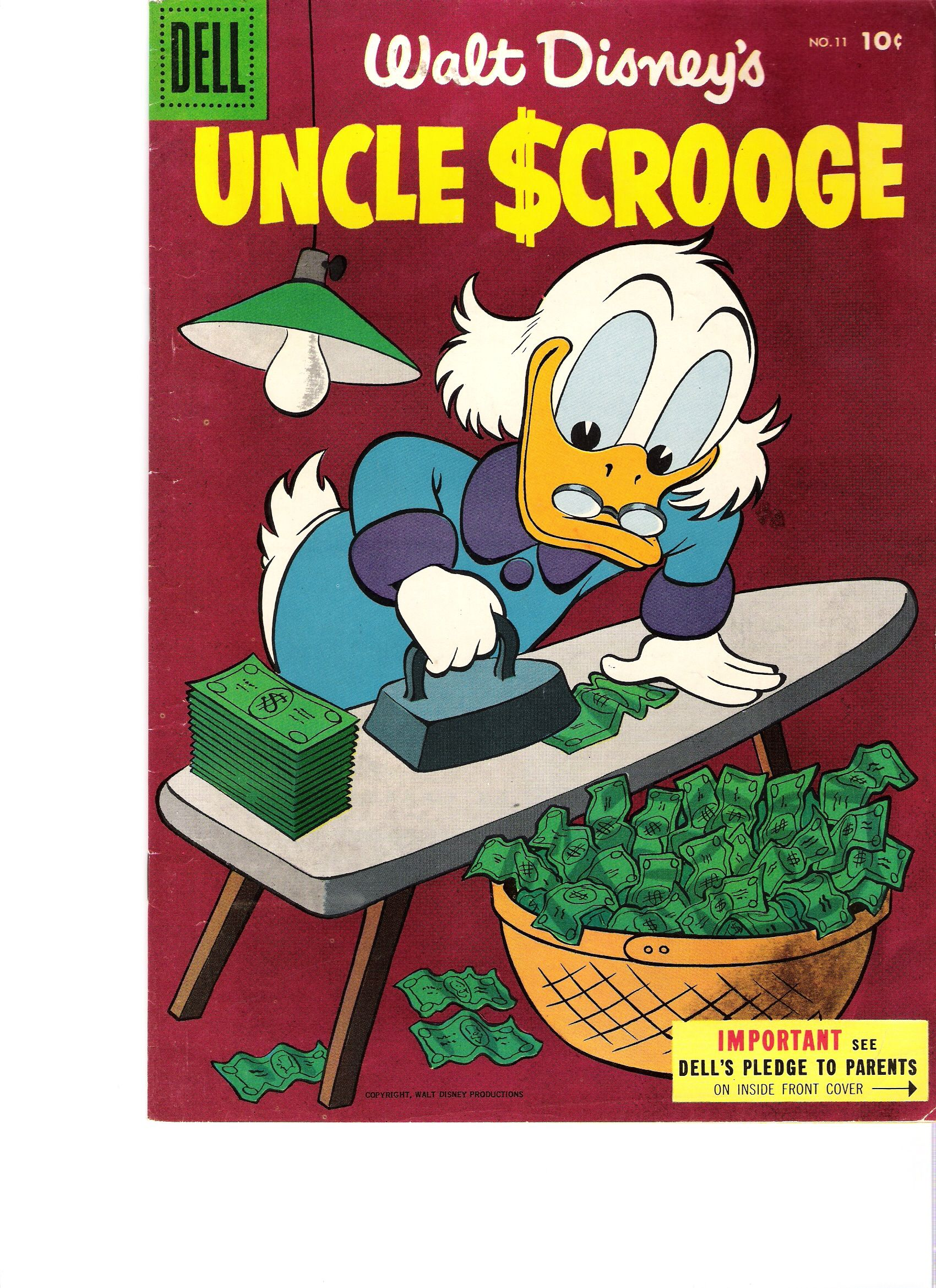 In my comic collection-Carl Barks one of my favorite artists