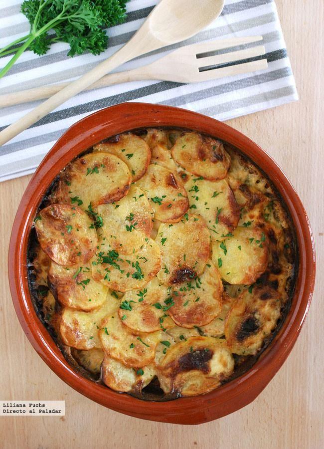 Gratinado de rodaballo con patatas receta mediterranean for Al tannour mediterranean cuisine menu