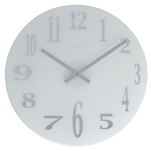 Check Out Our Modern Glass Wall Clock Our Clock Features A Frosted Glass Face With Mirrored Numerals And Hands This Is A Wall Clock Clock Wall Clock Online