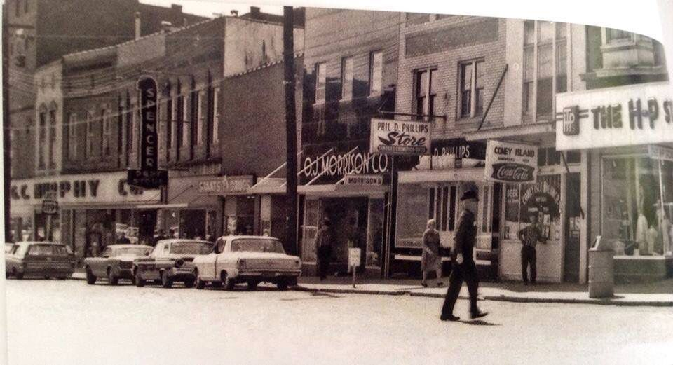 Main St Spencer Wv 1960 Ewvaih