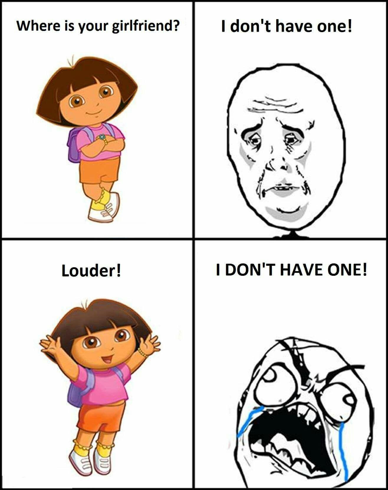 Pin By Denver Bayombong On D Random Funny Dora Funny Really Funny Memes Crazy Funny Memes