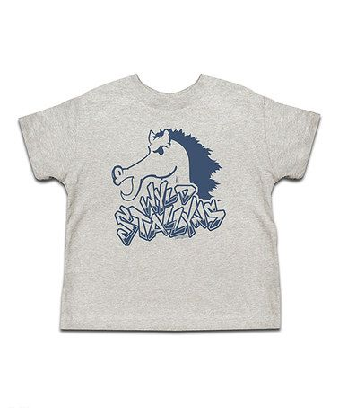 Take A Look At This Ash Blue Wyld Stallyns Tee Toddler
