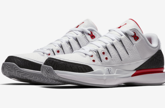 Official Images: Nike Zoom Vapor RF AJ3 Fire Red