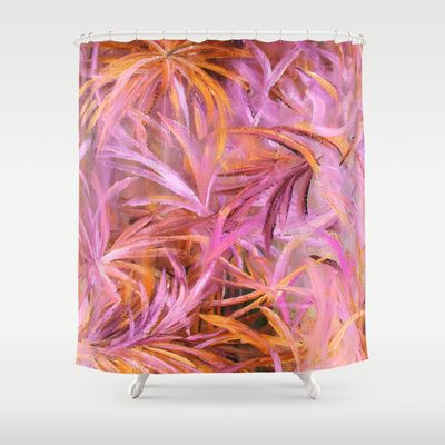 Fabulous Fuschia Fauna Shower Curtain By Rokinronda Society6