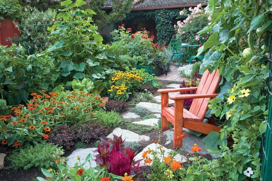 Garden Ideas · Replace Your Lawnu2014Vegetables ...
