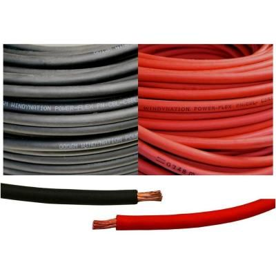 WELDING CABLE 2//0 RED 5/' FT BATTERY LEADS USA NEW Gauge Copper AWG