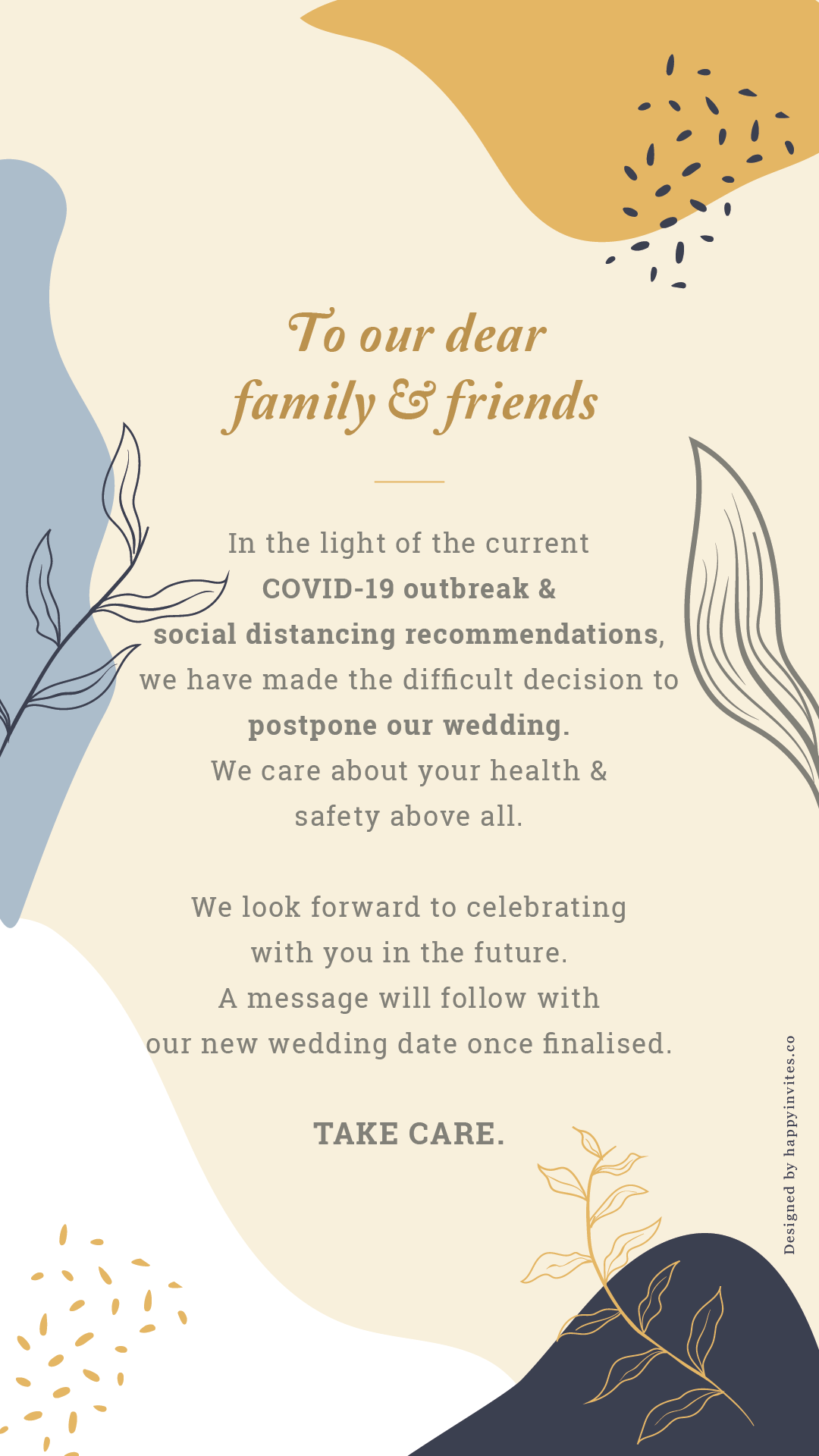 Wedding Invitation Video Maker Online Happy Invites In 2020 Wedding Cancellation Wedding Invitation Video Printable Wedding Invitations Vintage