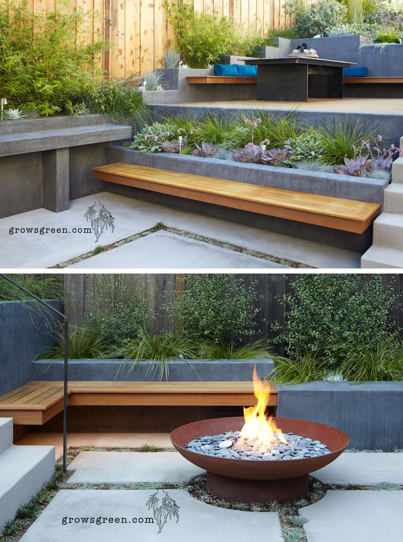 Before And After – An Overgrown Garden Was Transformed Into A Backyard Oasis