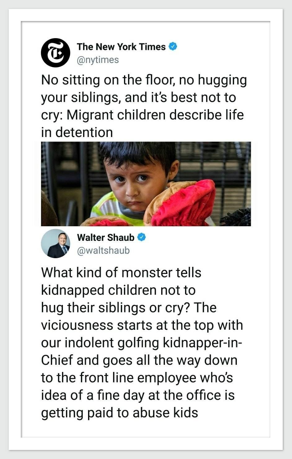 ALL of those ICE employees are monsters Inhumanity Pinterest