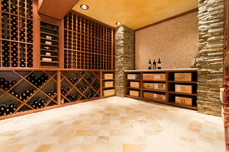 New Custom Wine Cellar In Old Tappan New Jersey Building Wine