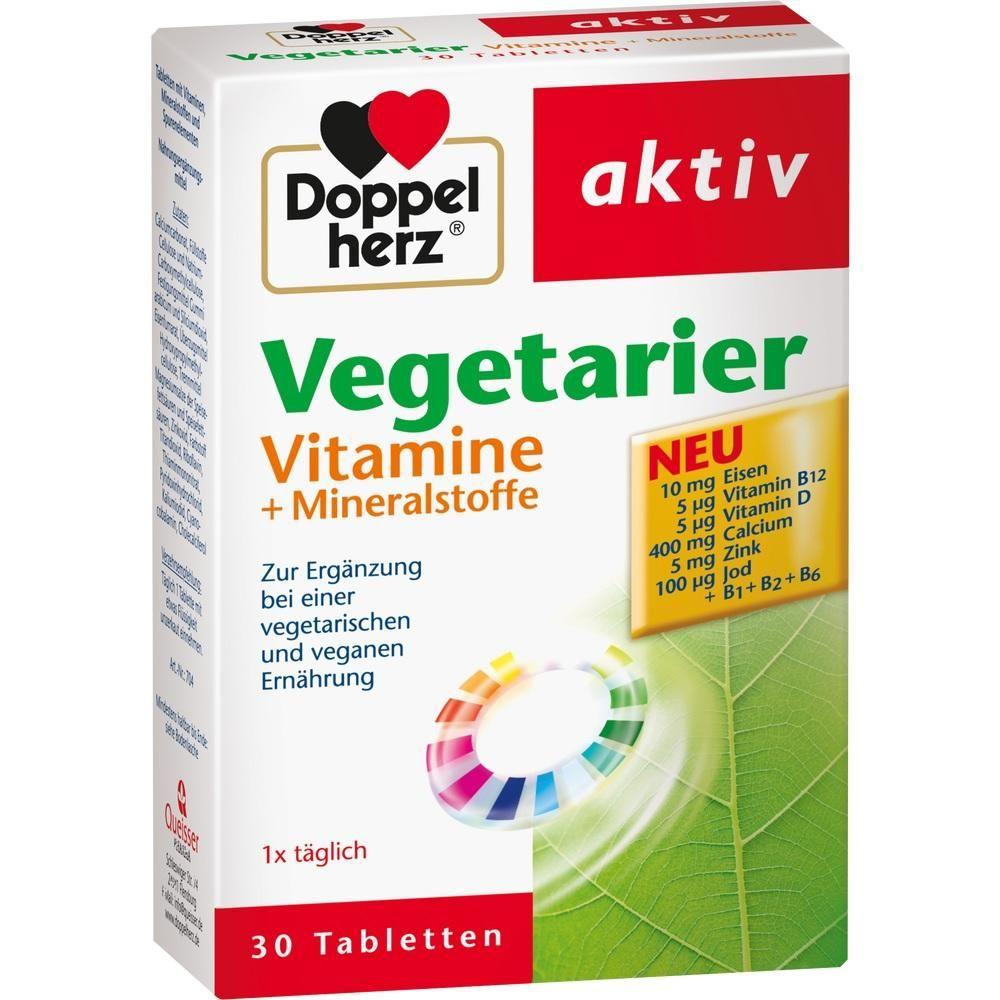 vitaminen vegetarier