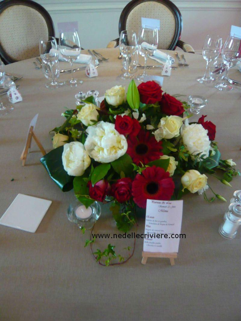 Centre de table rond restaurant le bouche oreille boutervilliers 91 inspiration mariage - Centre de table restaurant ...