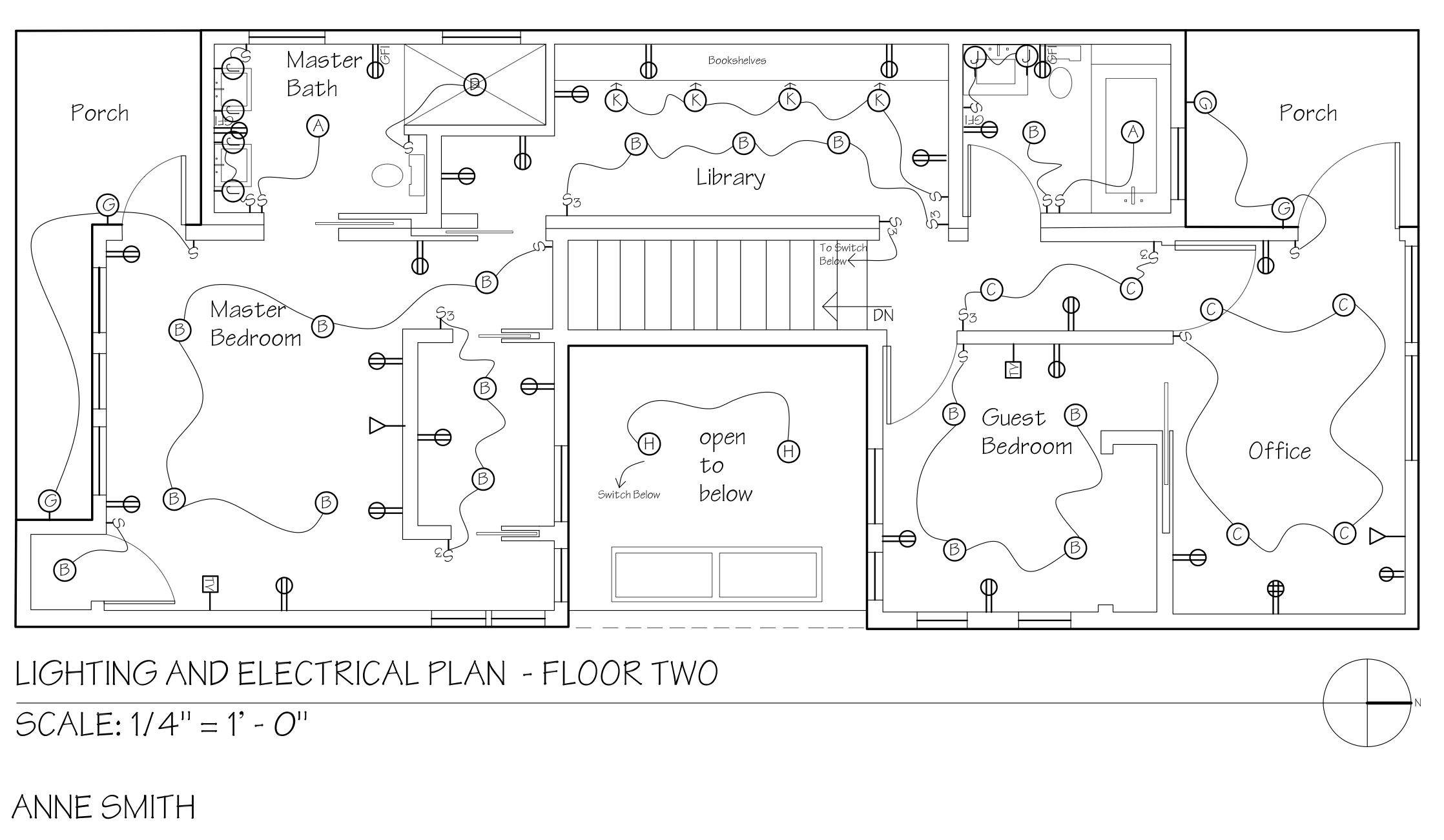 Floor Electrical Plan Symbols Lights  Electric Symbols