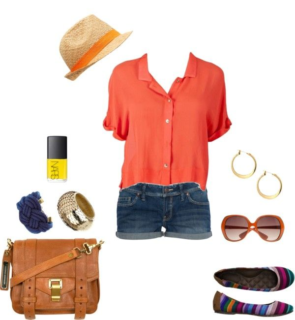 Tropical Flair, created by musicalpenguin on Polyvore