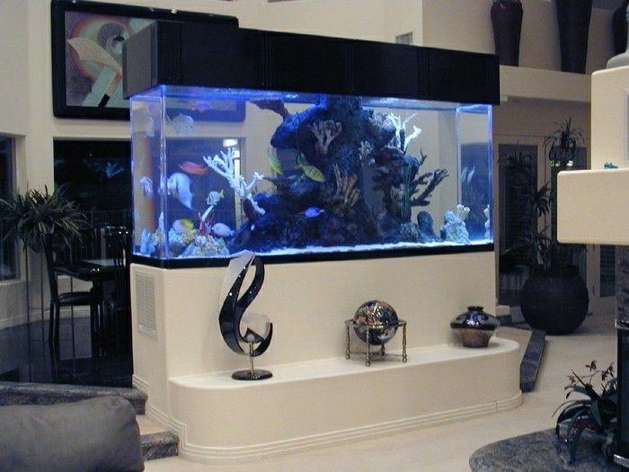 L\' aquarium mural en 41 images inspirantes! | Aquariums and Fish tanks