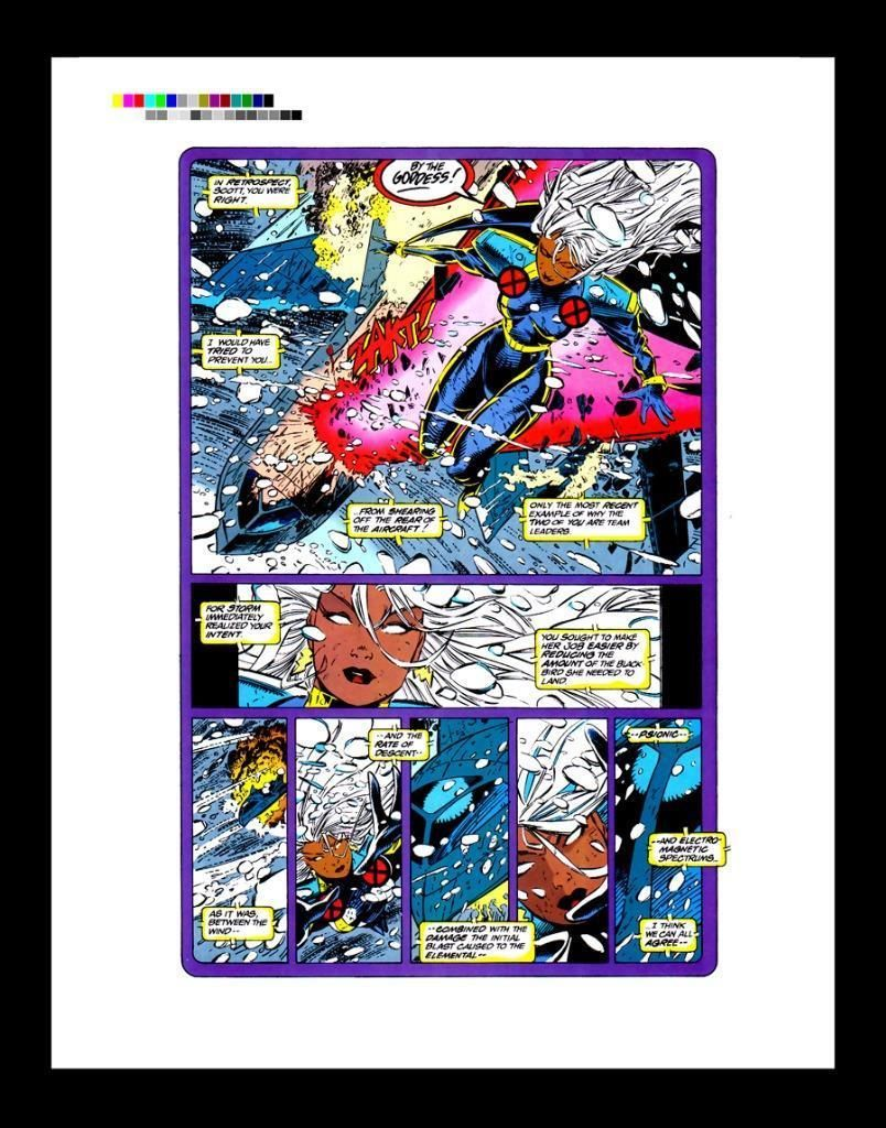 Chris Bachalo X Men Unlimited 1 Rare Production Art Pg 1 Ebay Classic Artwork Art X Men