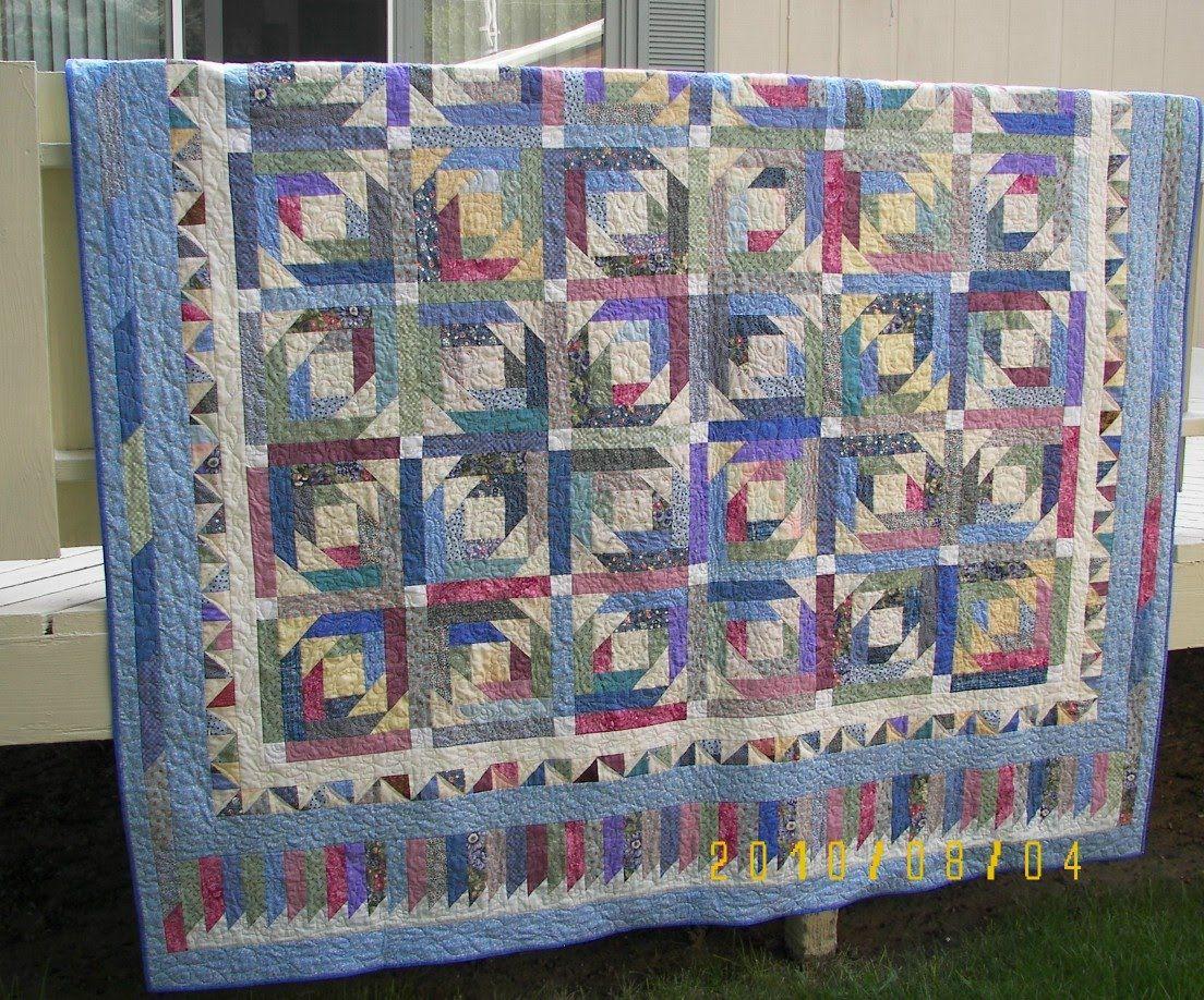 pineapple blossom quilt pattern | My Pineapple Blossom quilts is ... : pineapple quilt tutorial - Adamdwight.com