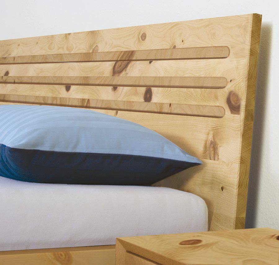 Allnatura Betten einzelbett und doppelbett salerno 03 zirbe allnatura de betten