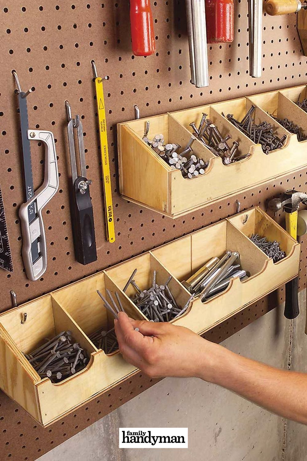 Cheap Workshop Storage Solutions You Can DIY