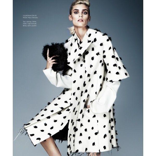 Alison Nix Channels Cruella de Vil for Harper's Bazaar Latin America... ❤ liked on Polyvore featuring models
