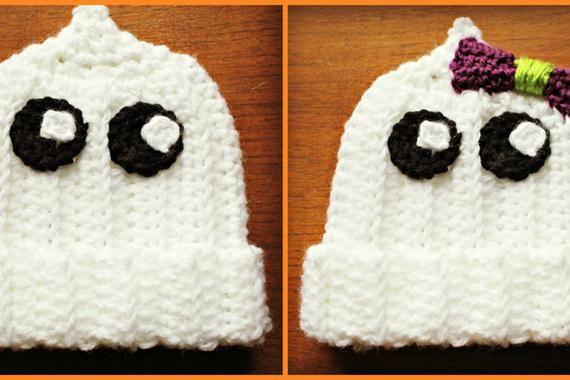Crochet Baby Ghost Hat Ghost Hat Baby Halloween Hat Halloween Hat