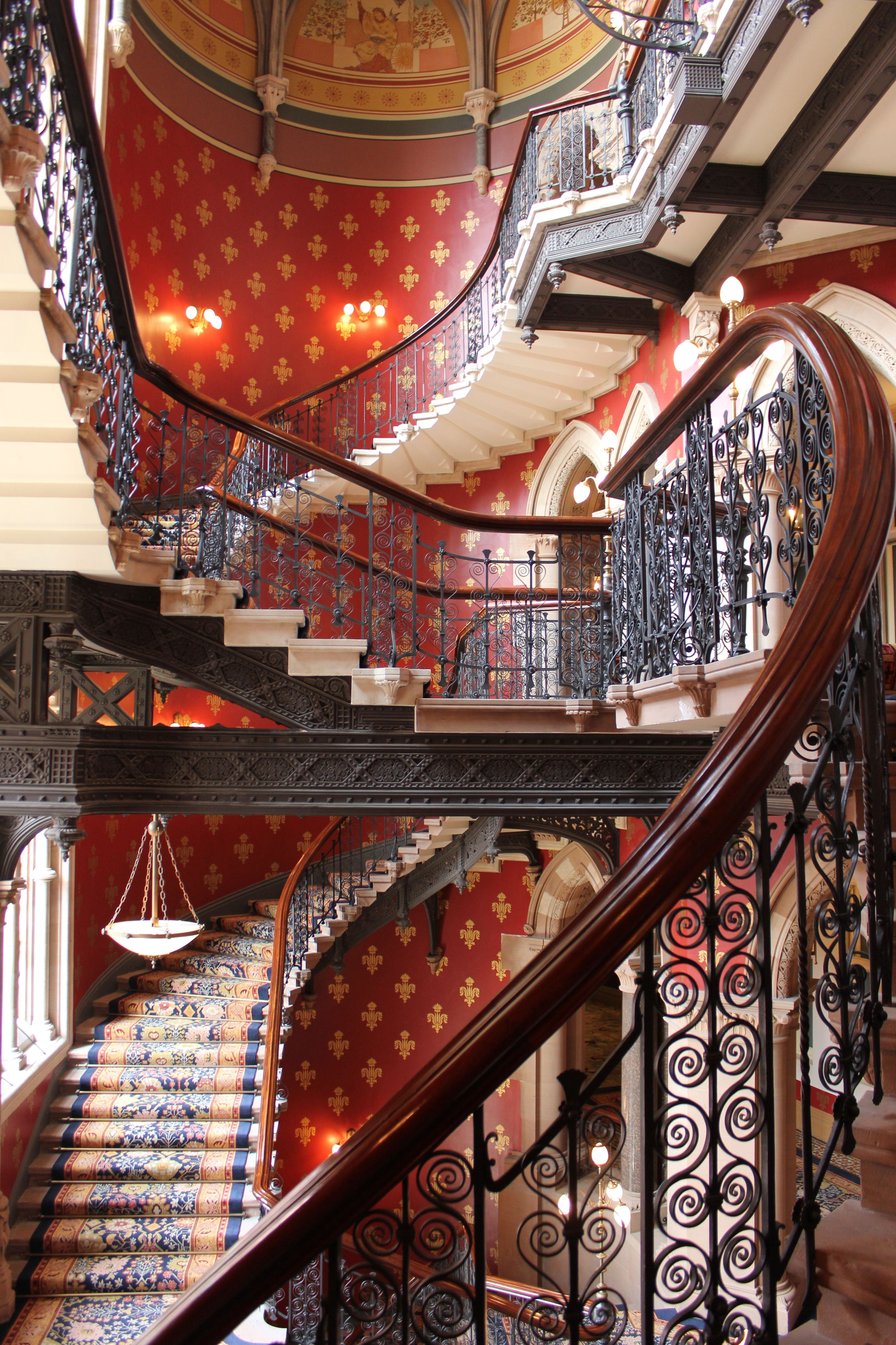 Twisted Handrail Stairways Stairs Leighton House Museum