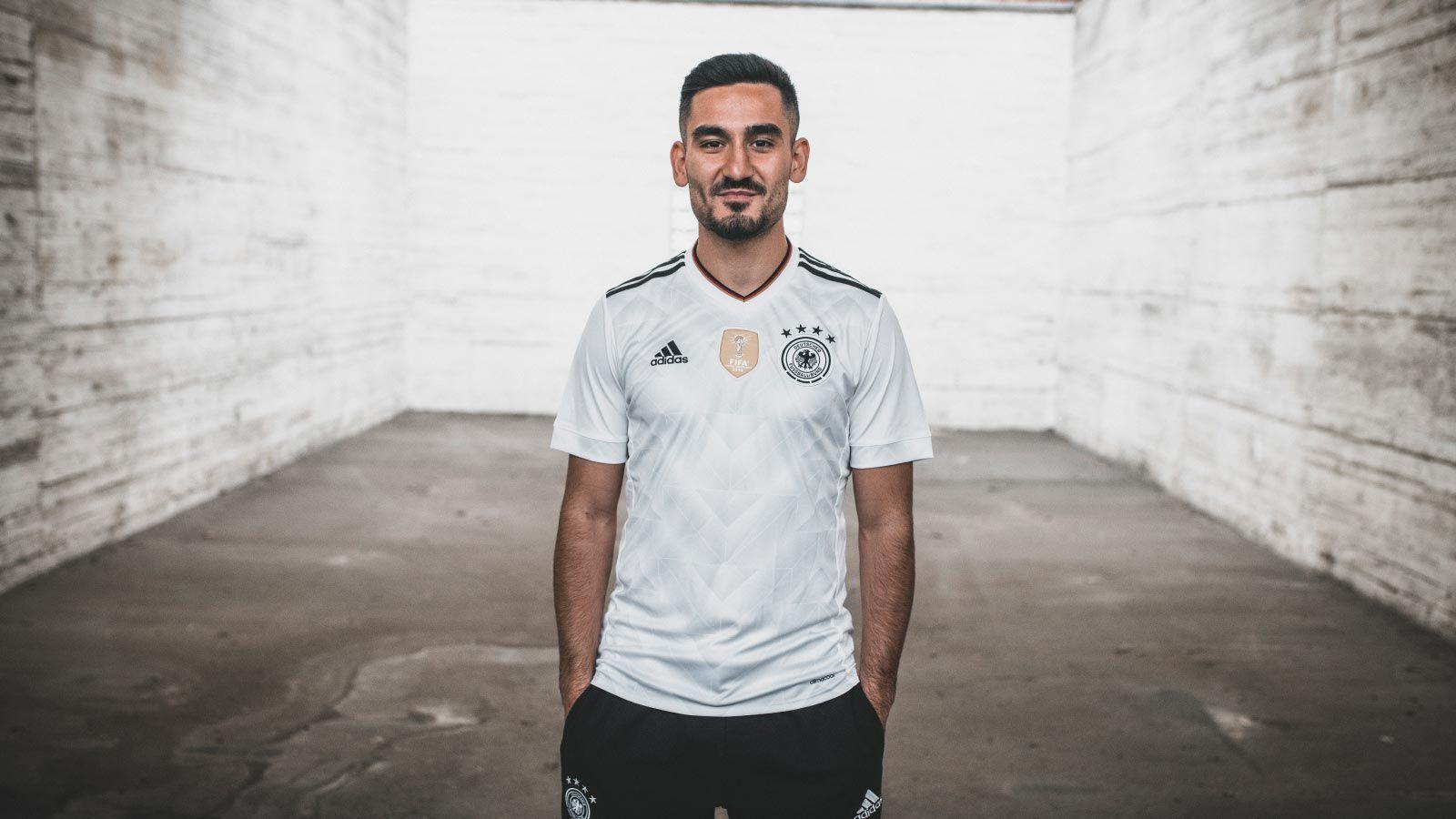 Camisa da Alemanha 2017-2018 Adidas Copa das Confederações ... 5da8e167a1a57