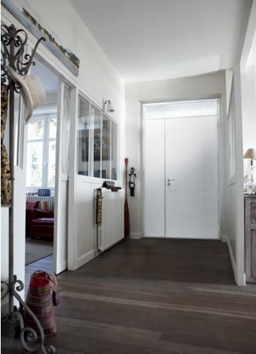 Une jolie porte d\'entrée pour ma maison   Porte entrée aluminium ...