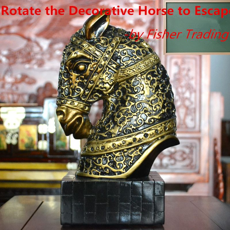 Cheap horse game, Buy Quality horse Directly from China Suppliers:Brief introductionof the product:This is to be used in real life room escape game, there is a decorative h