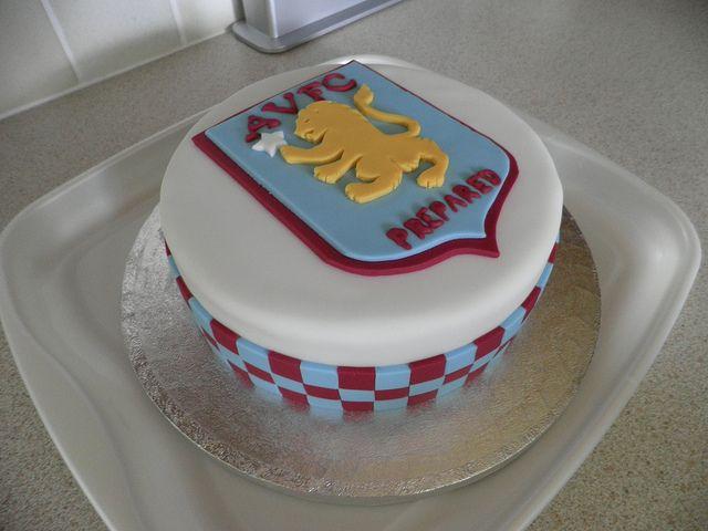 Aston Villa Cake Dad Birthday Cakes Paul Cakes Cake