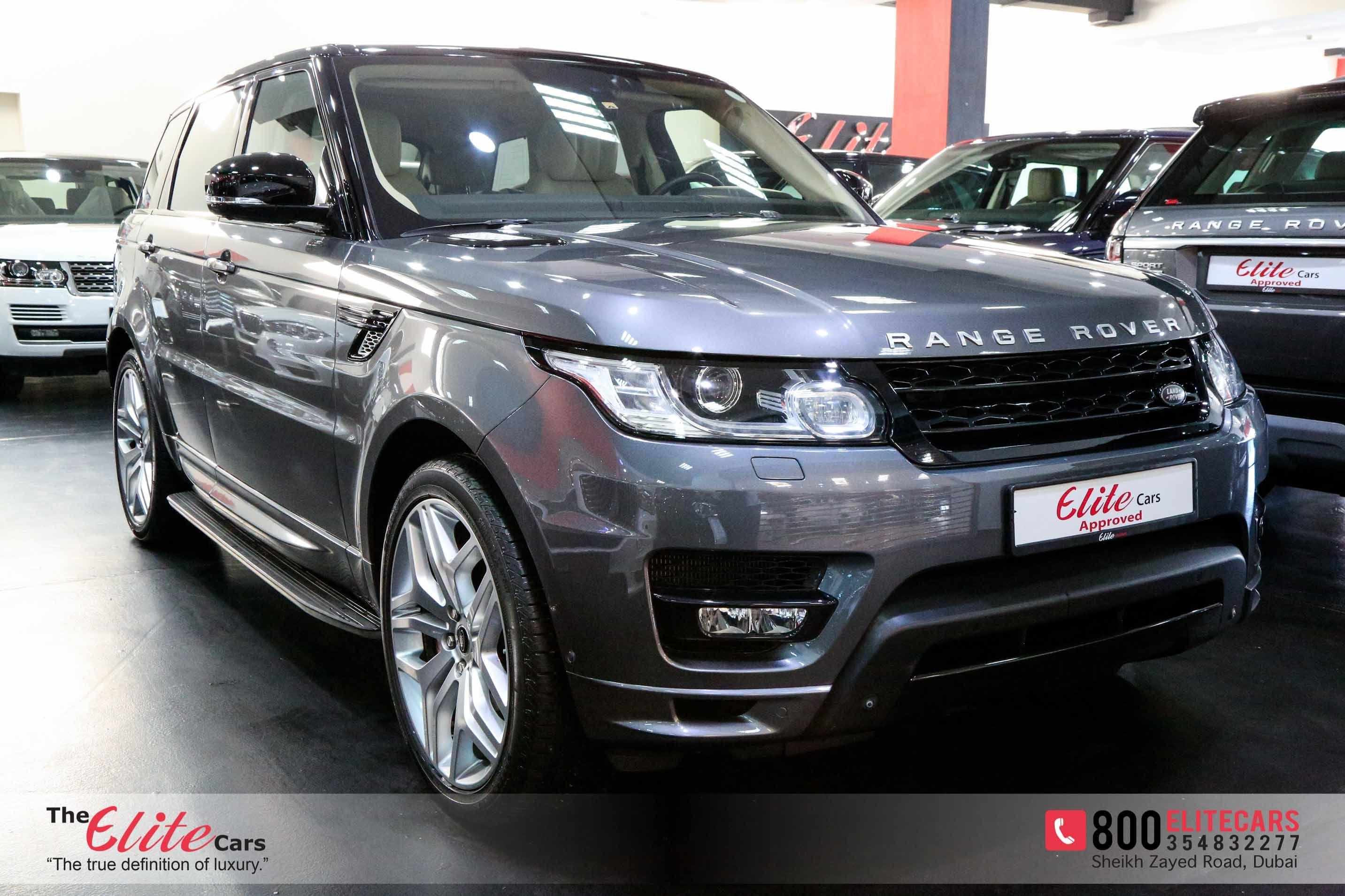 Range Rover Sport Autobiography 2014 For Sale In Dubai Grey