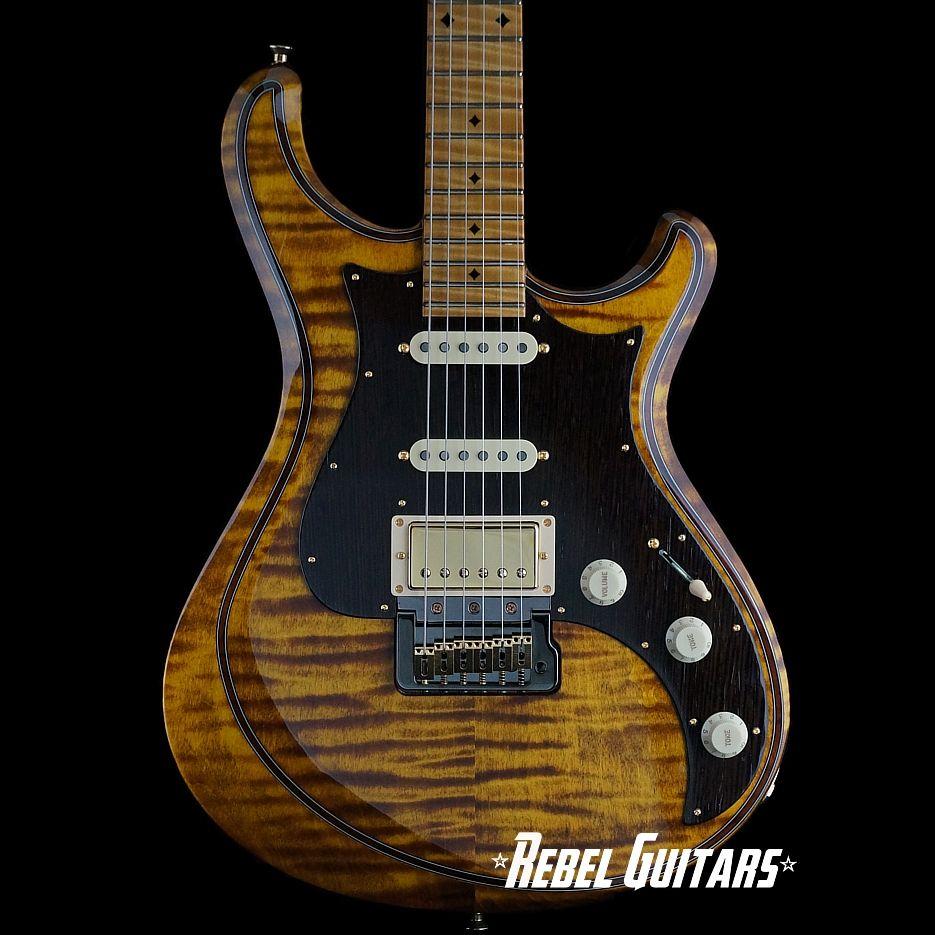 Knaggs Guitars Tier 2 Severn in Black Eyed Susan | Rebel Guitars