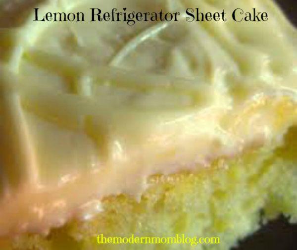 Lemon Refrigerator Sheet