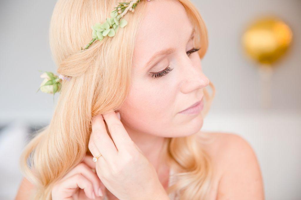 Braut Hochzeit Bride Bridestyling Make-up Hochzeitsstyling