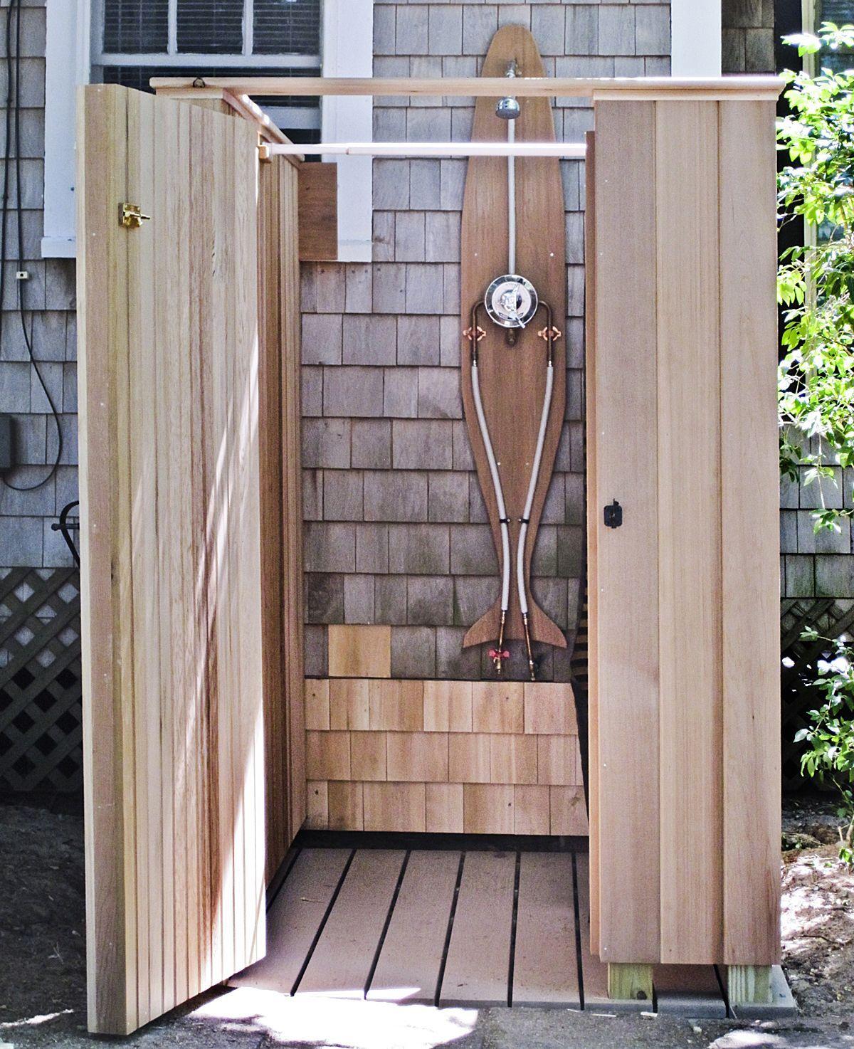 Fresco of outside shower ideas bathroom design - Outdoor shower enclosure ideas ...
