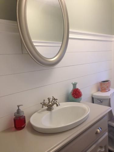 Kohler Serif Drop In Vitreous China Bathroom Sink In White With Overflow Drain K 2075 4 0 The Home Depot Drop In Bathroom Sinks Bathroom Sink Tub And Shower Faucets