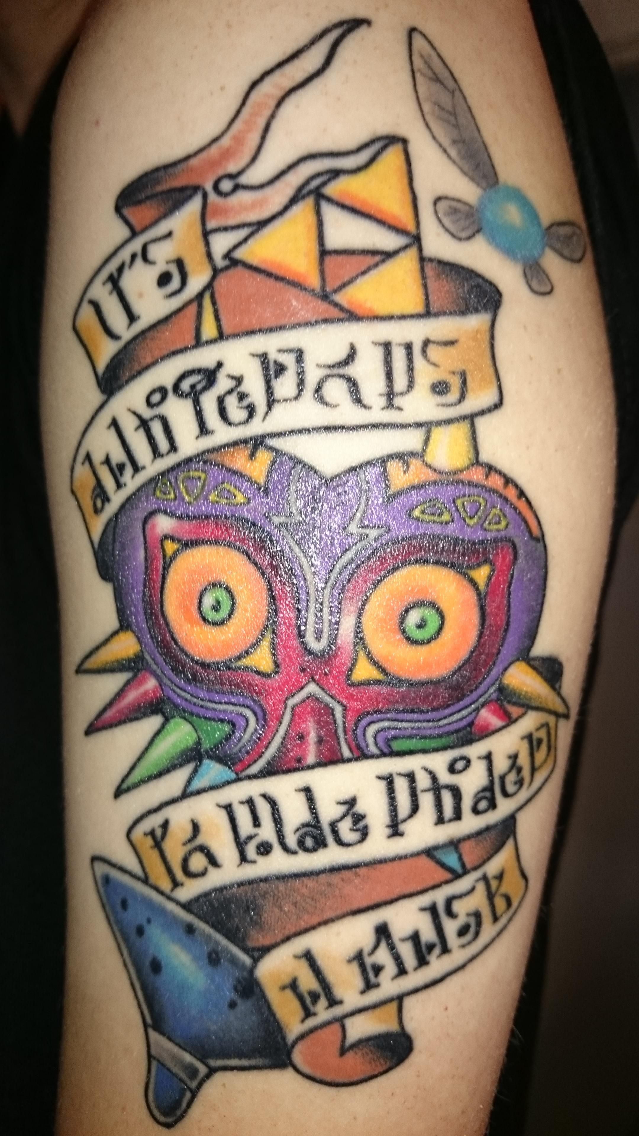7153eef0e8dc9 My new Zelda Tattoo, done by Ben Jenkins from The Tattooed Heart in  Auckland, New Zealand