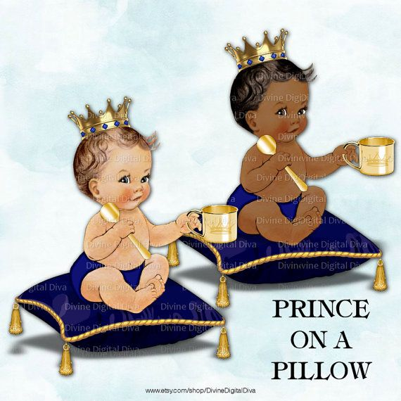 Little Prince On A Pillow