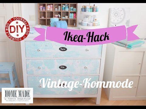 How To I IKEA-Kommode im Shabby Stil I Deko Inspirationen Selbstgemacht - YouTube