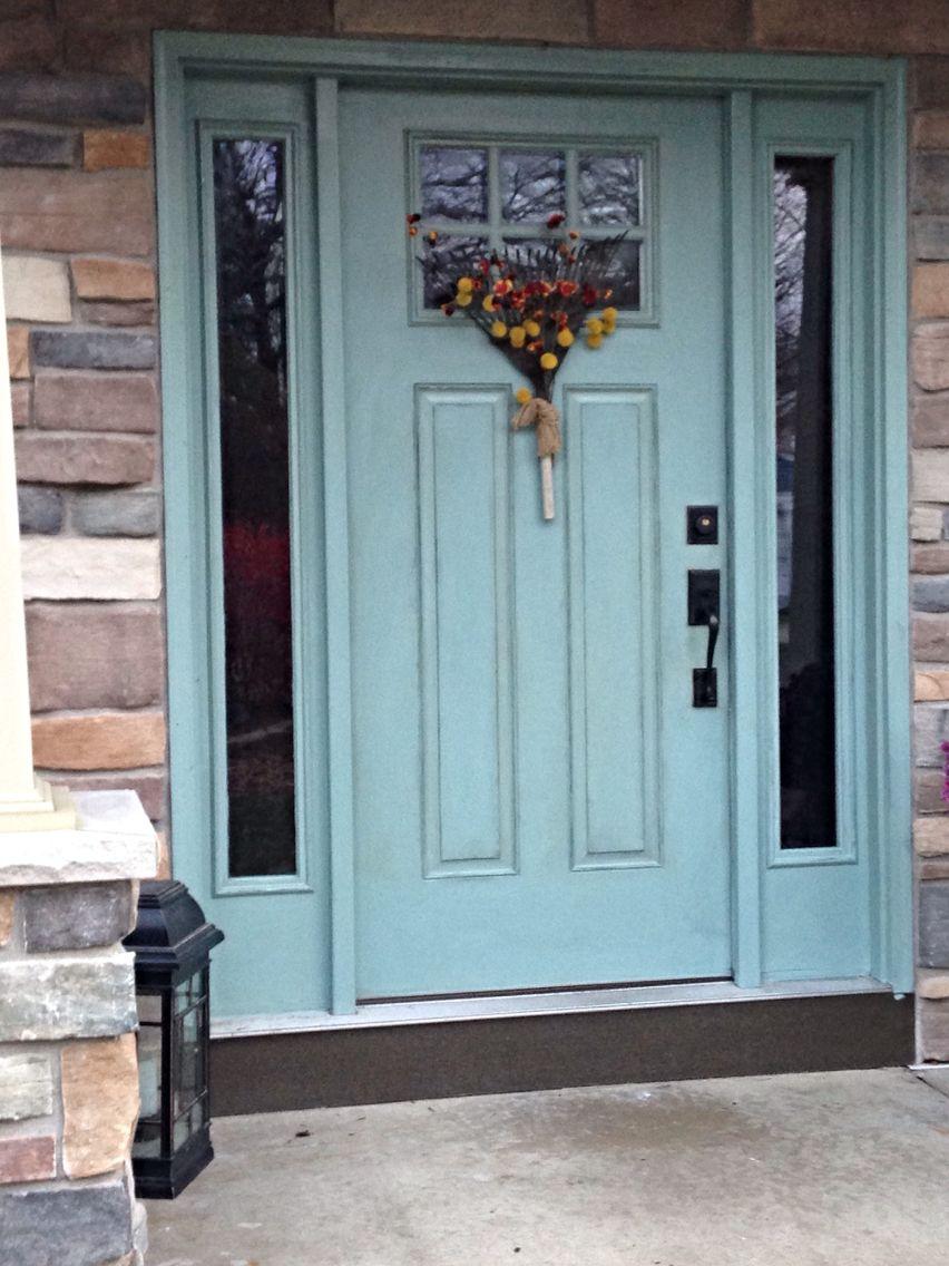 Duck Egg Blue Front Door Front Doors In 2019 Exterior