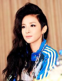 2ne1 Dara 2ne1 Dara Half Shaved Hair Pretty Hairstyles