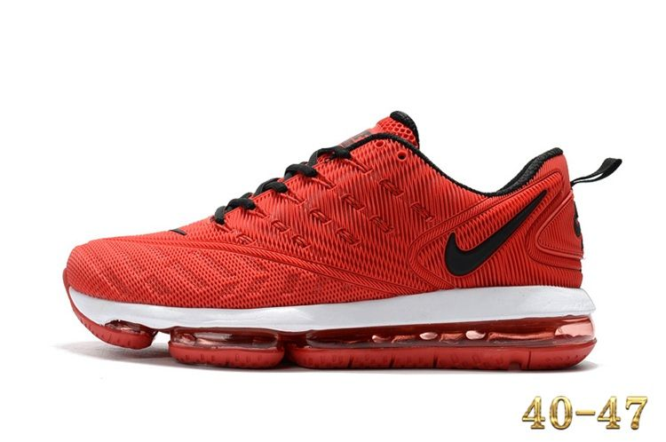 fb2c50c4c4a11 Nike 2019 KPU AIR MAX Sports Shoes Men Red Black 40-47