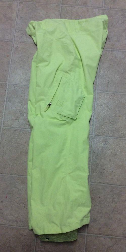 Burton Gore Tex Performance Shell Ski Snowboard Womens Neon Yellow Large C   eBay