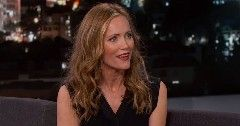 How to be single star leslie mann stopped by jimmy kimmel live last if you turned her story into a commercial it would actually how to be single ccuart Images