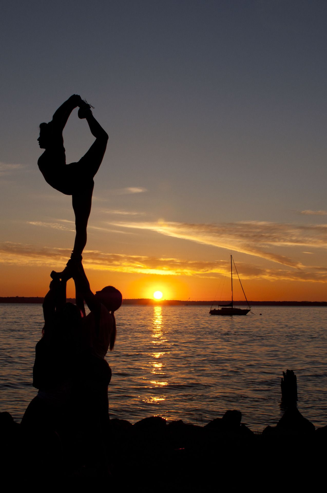 Scorp with a Sunset.. So pretty