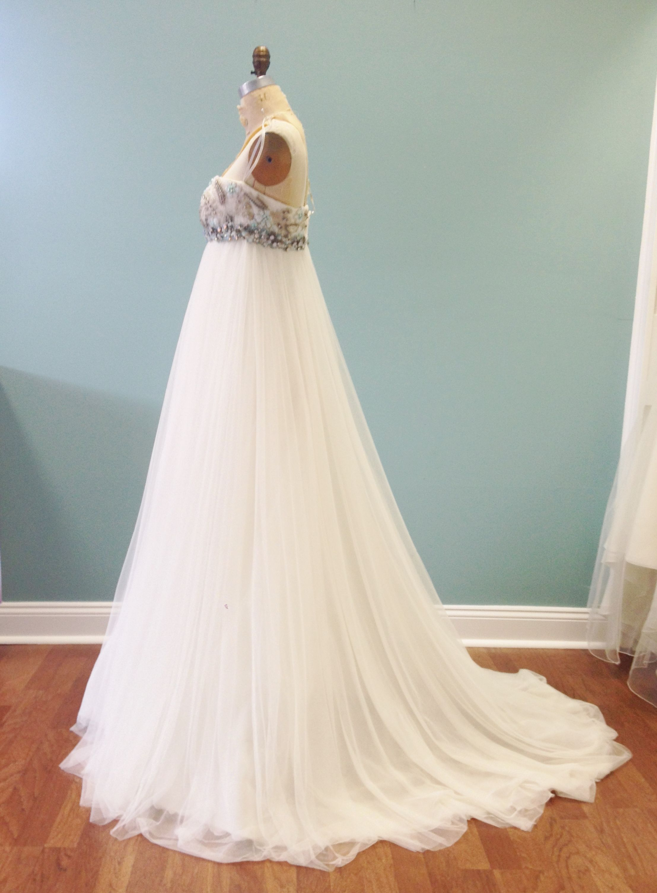 Edelweiss side view (sold) | Bridal gowns we carry | Pinterest ...