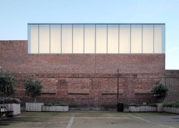 Casey Fierro Architects: Anish Kapoor studio, London