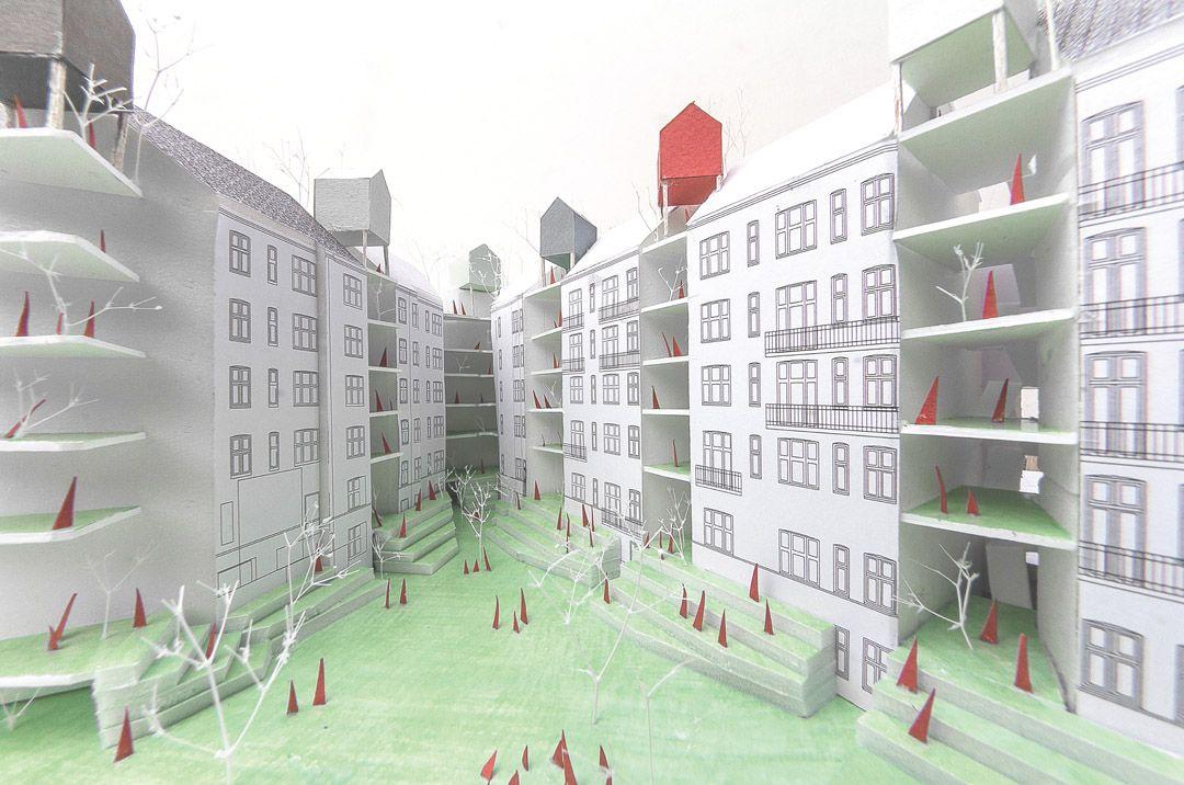 2nd in EUROPAN12 CPH / KATOxVictoria - 谷德设计网