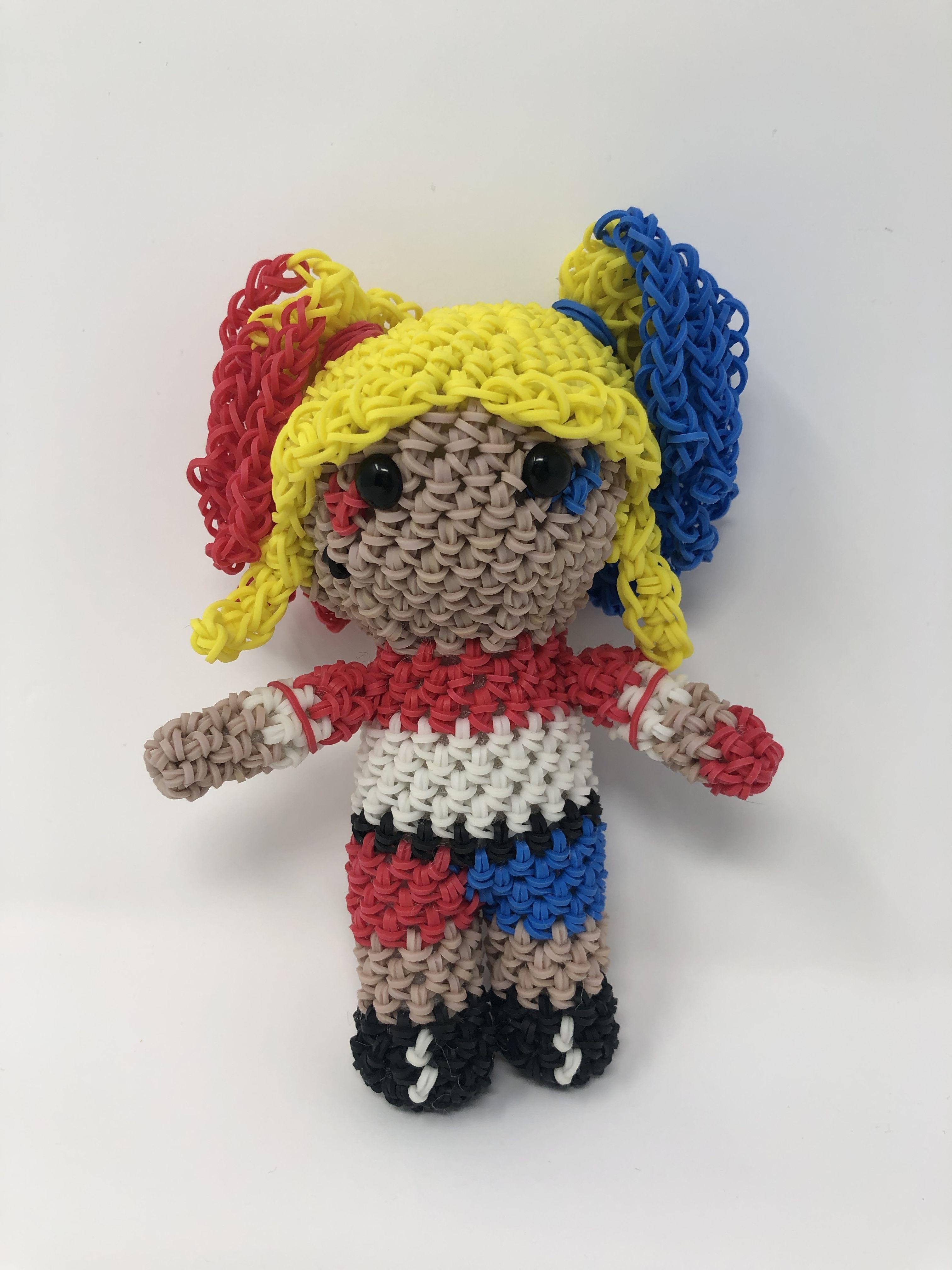 Harley Quinn amigurumi, Joker girlfriend plush, crochet villain ... | 4032x3024